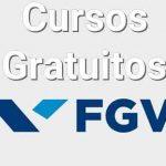 Cursos Gratuitos FGV Inscrições 2020