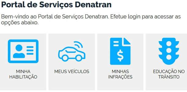 Portal de Serviços DENATRAN